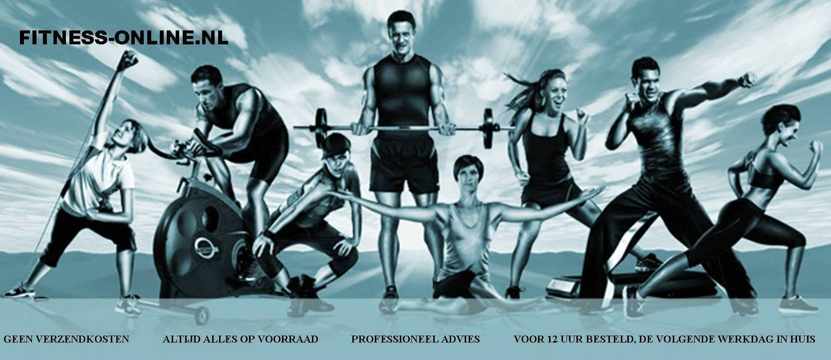 Fitness-Online.nl homepage